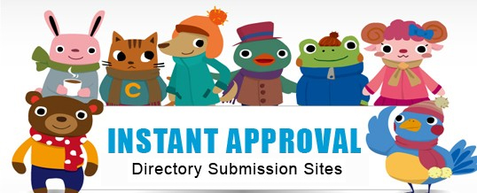 Instant Approval Directory Submission Sites |
