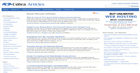 Cobra Articles